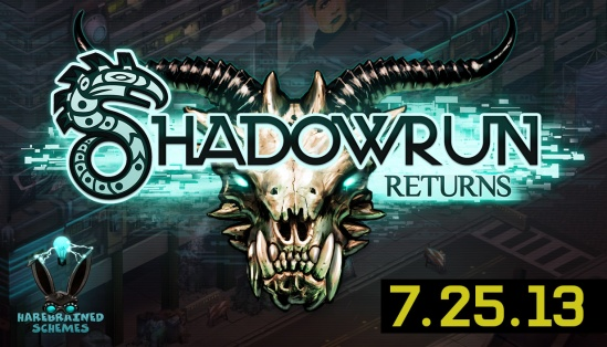 Shadowrun Returns Splash Logo